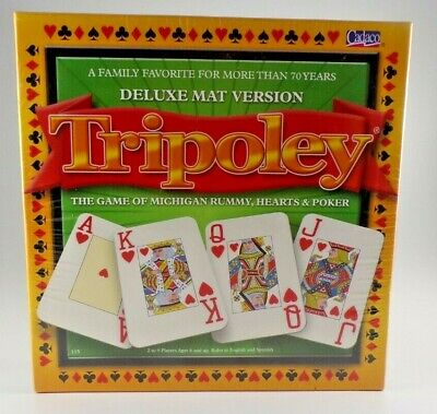 Tripoley Diamond Edition Game Card Games Rummy Hearts Poker