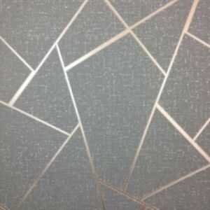 Image Is Loading Fine Decor Apex Quartz Metallic Wallpaper Abstract Triangle