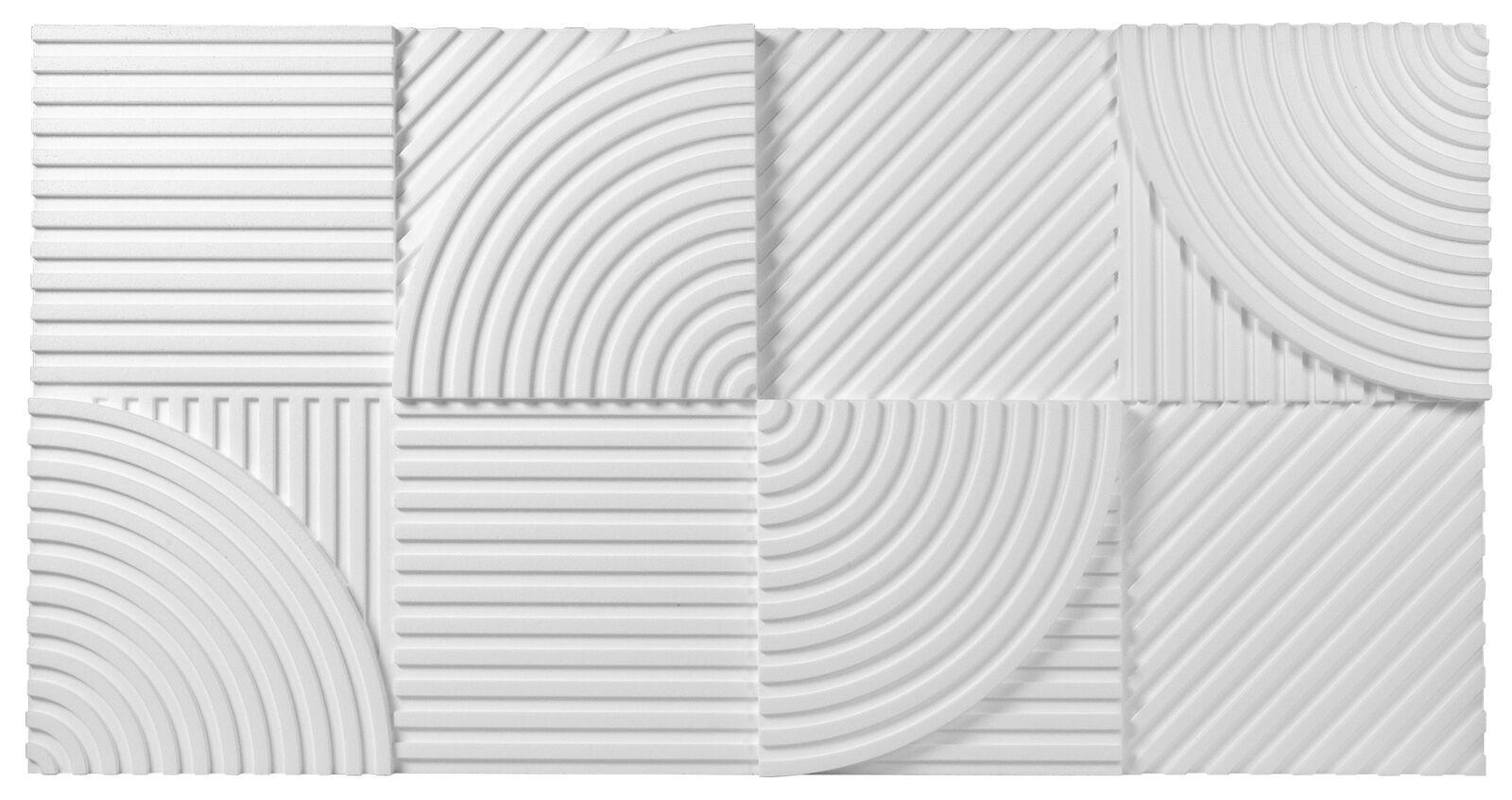 36 3D Paneele Wandplatten Wandverkleidung Sparpaket Marbet 96x48cm PD-4