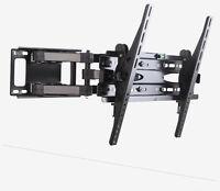 DUAL ARM FULL MOTION TILT TV WALL MOUNT BRACKET  LED LCD Plasma TV 32''-50''