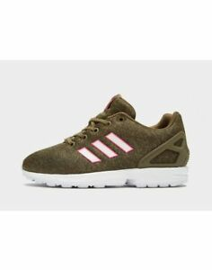 fdcc3488b816f adidas Originals ZX Flux Girls Women s Trainer (UK 5.5) Brown Brand ...
