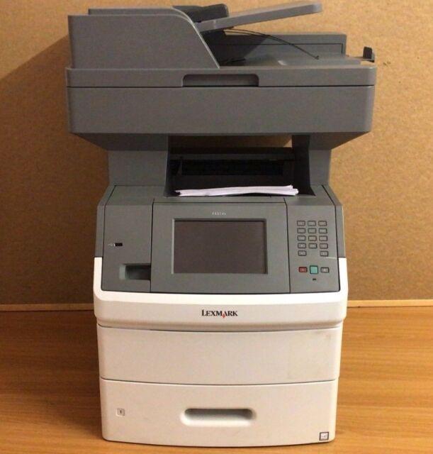 0016M1650 - Lexmark X652de A4 Mono Multifunction Laser Printer
