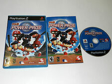 MLB Power Pros Sony Playstation 2 PS2 Video Game Complete