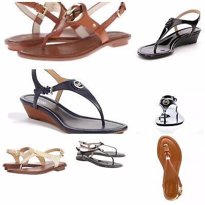 New Michael Kors RamonaAubreyBethany Thong Sandal Various StylesSize 6 9.5   eBay