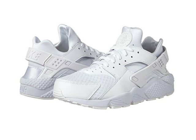 cheap for discount f9395 f6732 Nike Air Huarache White   Pure Platinum Running Men s Shoe 318429-111