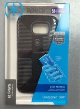 Genuine SPECK Samsung Galaxy S6 CandyShell Grip Black  DROP TESTED Retail Packed