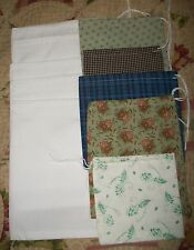Civil War Reproduction Set Of 15 Homemade Ration Bags~Poke Bags~Ditty Bags
