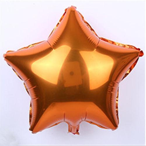 "18/"" 5//10Pcs Large Star Foil Balloon Birthday Wedding Party Helium Ballons Decor"