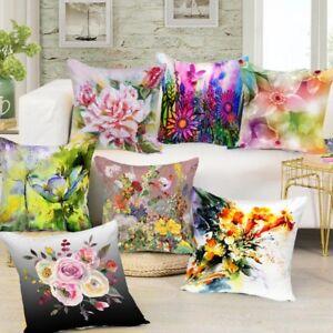 Digital-Printed-3D-Flowers-Themed-Cushion-Cover-Sofa-Home-Decor