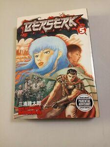 BERSERK Volume #5 Dark Horse Manga- Kentaro Miura. Parental Advisory
