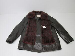Brown Mink Jacket Women's Størrelse Lloyds Leather Pelscoat Vtg L w65n1tqq