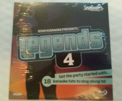 Zoom Karaoke Cdg Legends Volume 4 Elton 1 Disc 18 Tracks Rod Etc