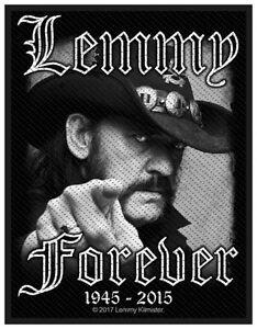 MOTORHEAD-LEMMY-Forever-Patch-Aufnaeher-8x10cm