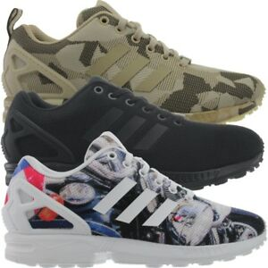 Adidas-ZX-Flux-Herren-Sneakers-blau-schwarz-braun-Laufschuhe-Freizeitschuhe-NEU