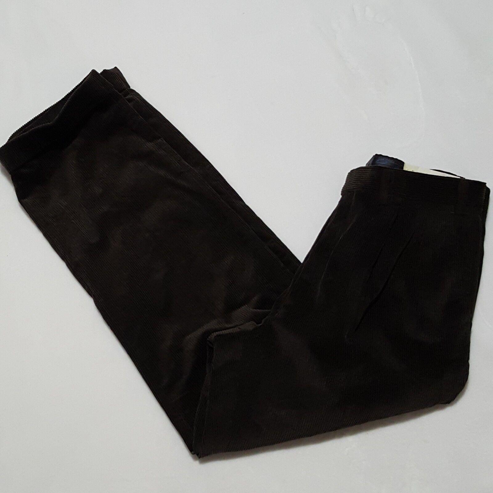 NEW Lauren Ralph Lauren 36x31 Pants Mens Corduroy Pleated Front Classic Fit Cuff