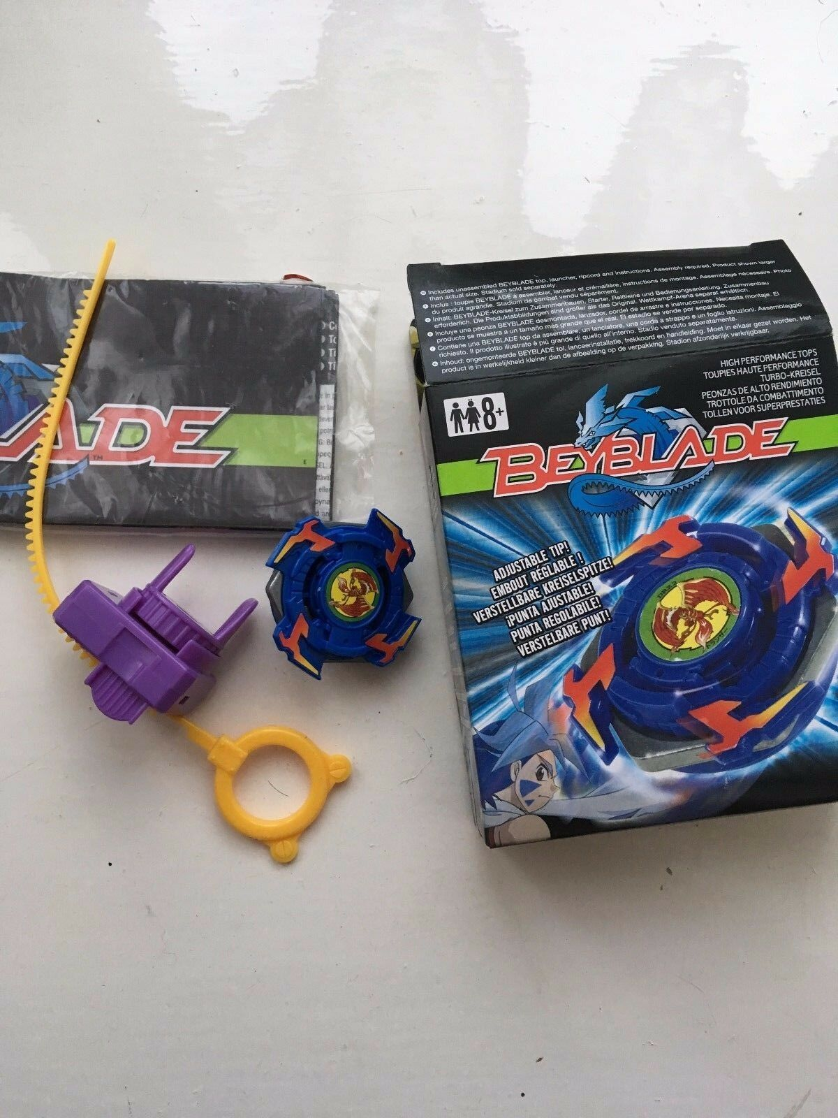 BOXED HASBRO ORIGINAL FIRST GENERATION DRANZER AUTO CHANGE BALANCER BEYBLADE