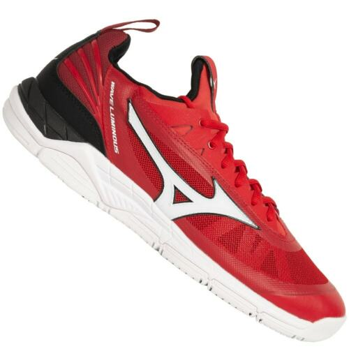 Mizuno Wave Luminous Herren Volleyball Indoor Sport Schuhe V1GA1820-62 rot neu