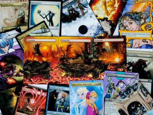 +more 70 Random Magic the Gathering ALTERS Liliana of the Veil Avacyn