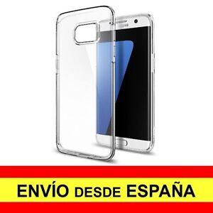 Utile Funda Silicona Para Samsung Galaxy S7 Carcasa Transparente Tpu ¡espaÑa! A2085