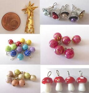 Schmuck Weihnachten.Details Zu Christbaum Spitze Pilze Kugeln Glocke Schmuck Weihnachten Puppen Miniatur 1 12