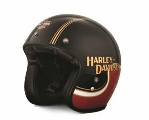 harley davidson the shovel b01 3 4 helmet ebay. Black Bedroom Furniture Sets. Home Design Ideas