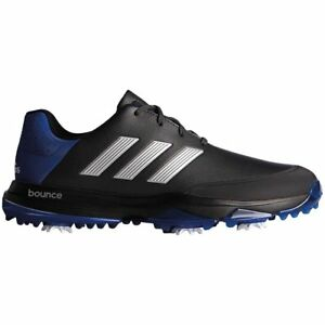 Adidas-Adipower-Bounce-Wide-Golf-Shoes-9-12-1-2-039-s-Black-Silver-Royal-Men-039-s
