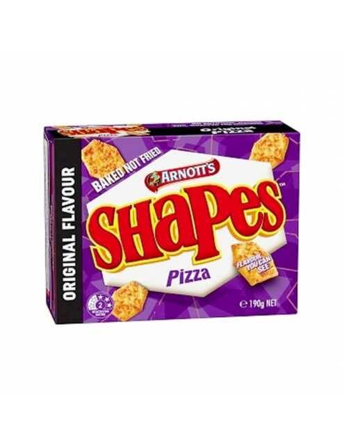 Arnotts Shapes Original Pizza 190g