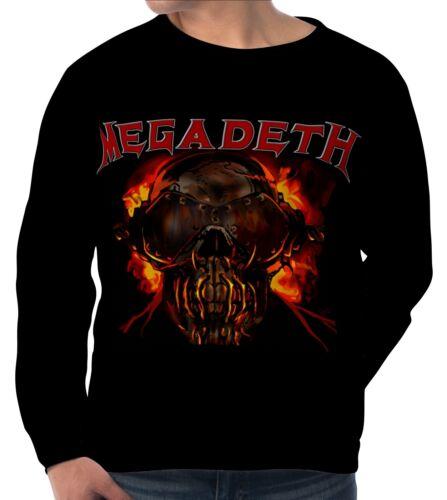 Megadeth Dave Mustaine Herren Sweatshirt Sweater Pullover wa5 aam20124