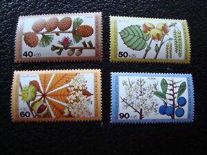 Germany-Berlin-Stamp-Yvert-Tellier-N-568-A-571-N-MNH-AL1