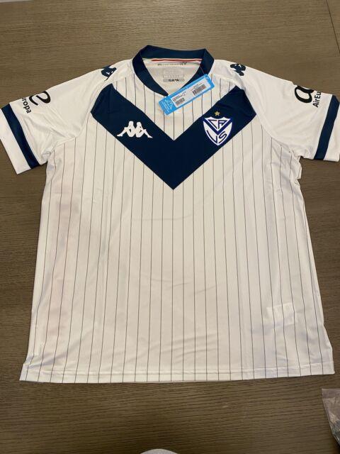 Original Kappa 20/21 Velez Sarsfield home soccer futbol jersey size mens large