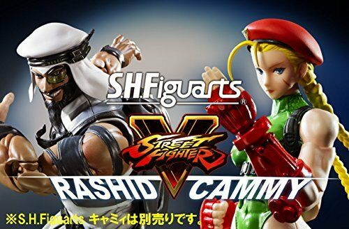 NEW S.H.Figuarts Street Street Street Fighter RASHID Action Figure BANDAI from Japan F S fb19ec