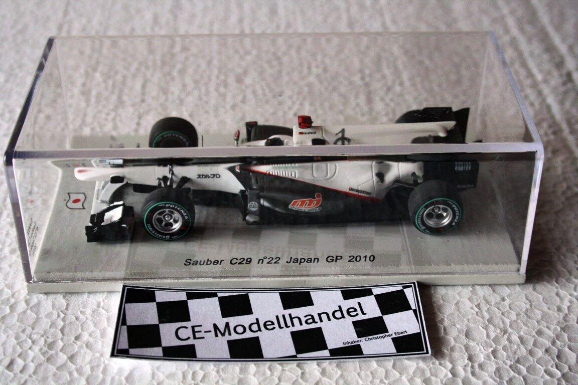 Propre c29  Japon GP 2010  N. Heidfeld  SPARK  1 43