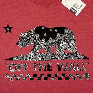 0b04f78c45f4 Image is loading New-VANS-OTW-Bandana-Paisley-California-Republic-Bear-