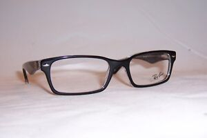 91492515fc5 NEW Ray Ban RB RX 5206 RB5206 RX5206 2034 BLACK 52mm AUTHENTIC ...