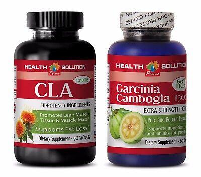 Fat Loss Energy Pills Garcinia Cambogia Cla Combo Cla