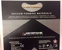Keystone Splint Material - .080in ( 2mm ) - 50pk - 5in X 5in Sheets- Keys-0076