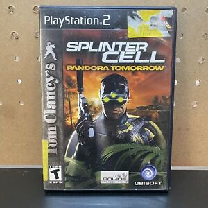 Tom-Clancy-039-s-Splinter-Cell-Pandora-Tomorrow-Sony-PlayStation-2-ps2-COMPLETE
