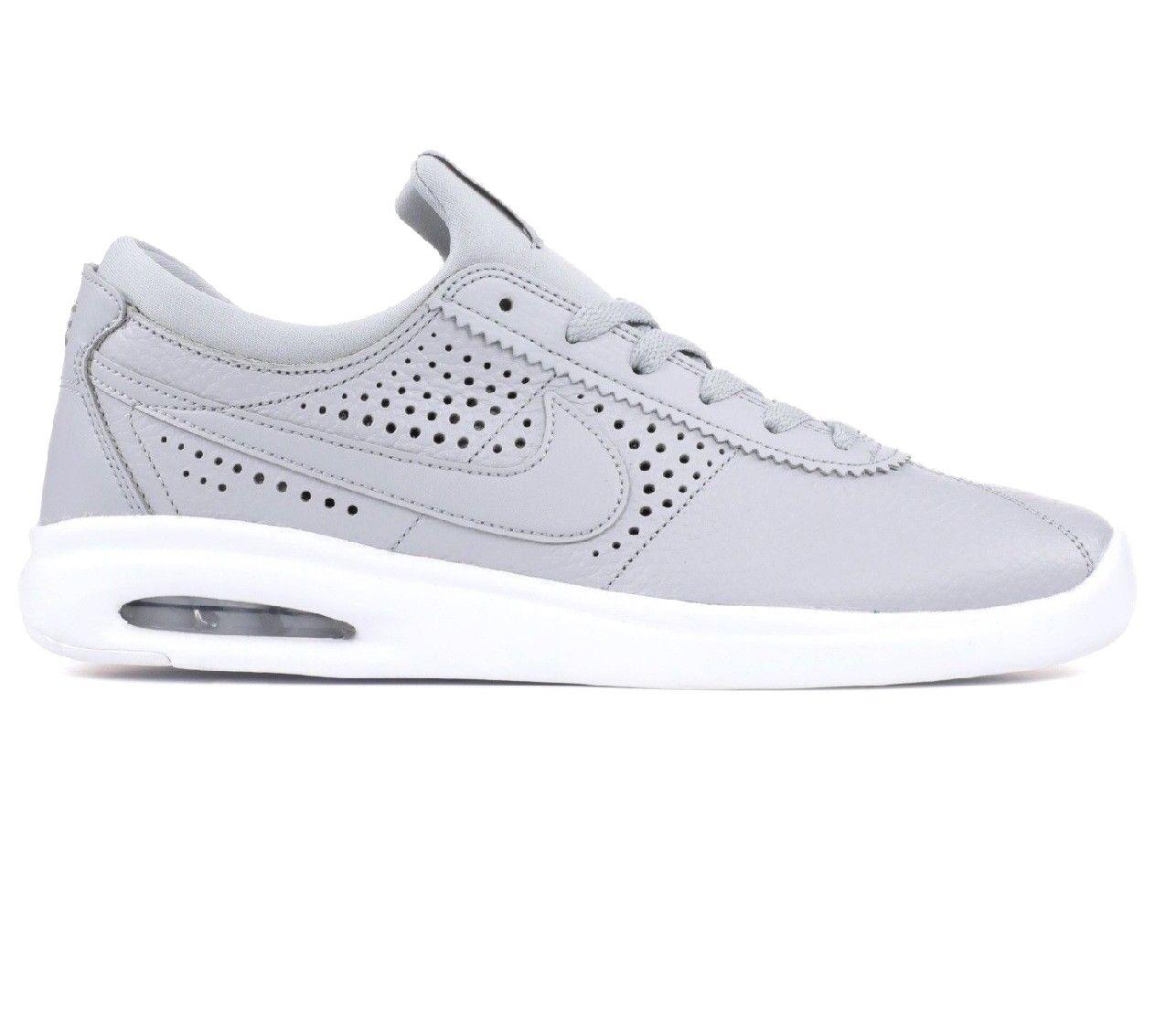 Nike SB Air Max Bruin Vapor Wolf Grey Men's Size 9.5 Skateboard 923111 006
