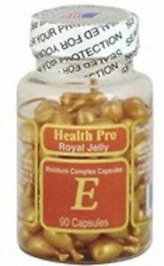 Nu-Health Royal Jelly & Vitamin E Skin Oil Moisture Complex (90 Capsules)