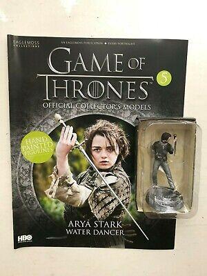 Game of thrones edition 16 arya stark eaglemoss collector figure models