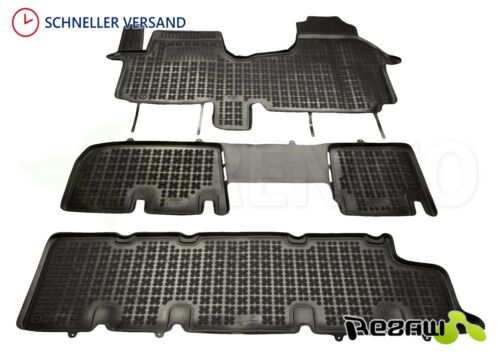 Gummi-Fußmatten OPEL VIVARO II 1 tlg ab 2014 Gummimatten zweite Sitzreihe