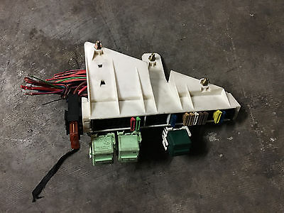 BMW OEM E39 E38 REAR TRUNK BATTERY JUNCTION TERMINAL WIRE FUSE RELAY PANEL  BOX | eBayeBay