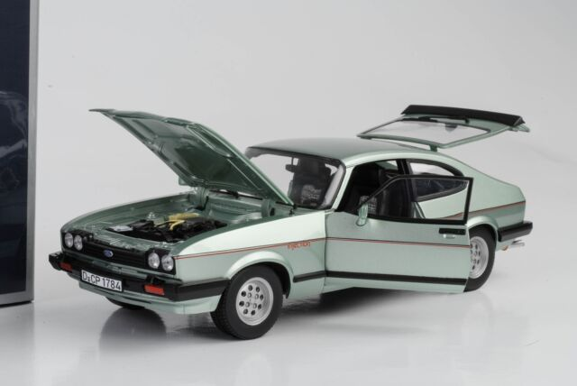 1:18 Ford Capri MK3 2.8i 1982 Lightgreen-Metallic Norev 182719