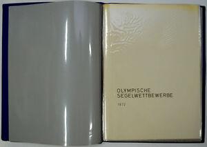 Olympische Spiele 1972 München Bewerbungsmappe Segelwettbewerbe