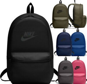 ffb212961672c Image is loading Nike-New-HERITAGE-Backpack-Rucksack-School-Gym-Travel-