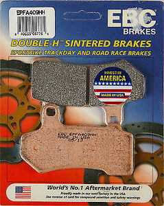 EBC EPFA409HH EPFA Sintered Brake Pads front or rear 61-0093 1721-0872 15-409EP