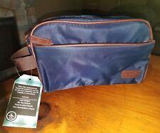 New PENGUIN by Munsingwear Men/'s Brown toiletry travel Shaving Kit Bag $47.50