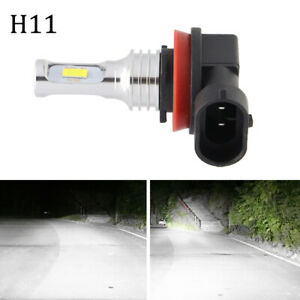 2PCS-H11-LED-Headlight-Super-Bright-Bulb-Kit-HIGH-LOW-Beam-6000K-White-Fog-Light