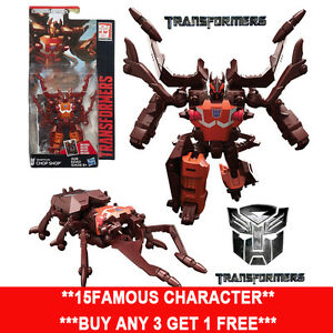 "Transformers Generations Combiner Wars Legends Class CHOP SHOP 3"" New in Box"
