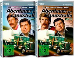 Gesamtedition - Abenteuer der Landstraße /alle deutschen Folgen auf 8 DVDs Pidax